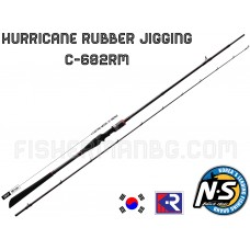 Hurricane Rubber Jigging C-682RM 2.03m 60-200g Black Hole