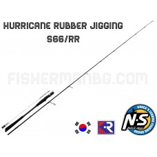 Hurricane Rubber Jigging S-66RR 1.98m 40-160g Black Hole
