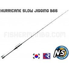Hurricane Slow Jigging B-66HMF 1.98m 60-200g Black Hole