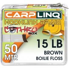 Плетено Влакно за Монтажи Hooklinq Braid 15lb Carp Linq