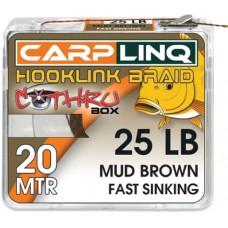 Плетено Влакно за Монтажи Hooklinq Braid 25lb Carp Linq
