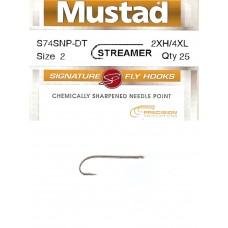 Куки S74SNP-DT Streamer Mustad