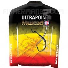 Тениска с UV защита 30 фактор Mustad Dayperfect Bass